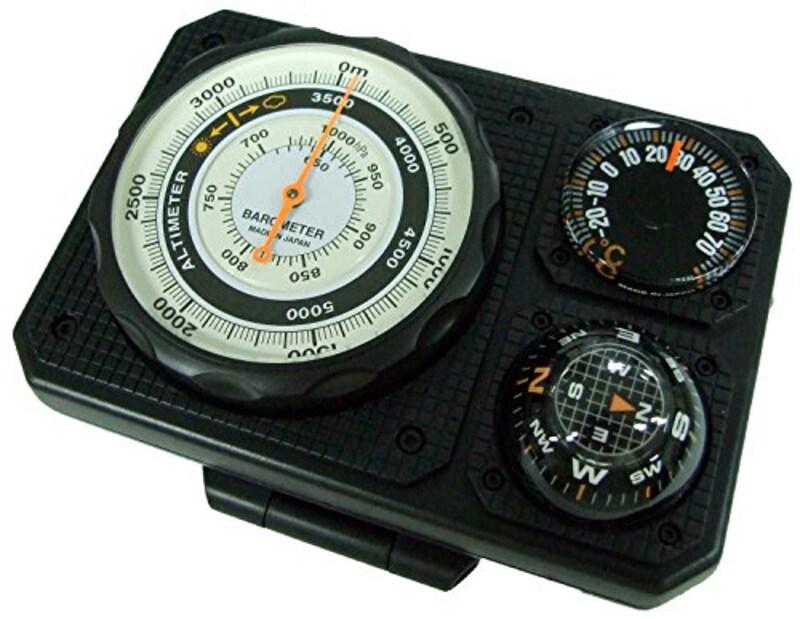 エバートラスト,高度計 アナログコンパス,NO1230