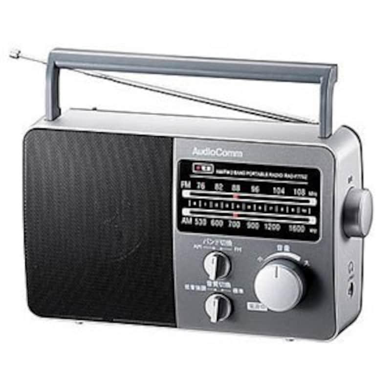 オーム電機,ポータブルラジオ,RAD-F770Z-H
