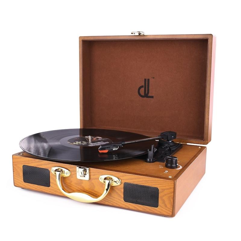 D&L SOUL ,レコードプレーヤー スーツケース型,DL-639P-W