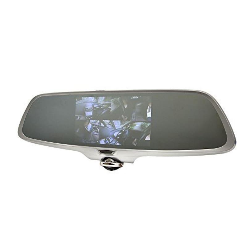 THANKO(サンコー),ミラー型360度ドライブレコーダー,CARDVR36