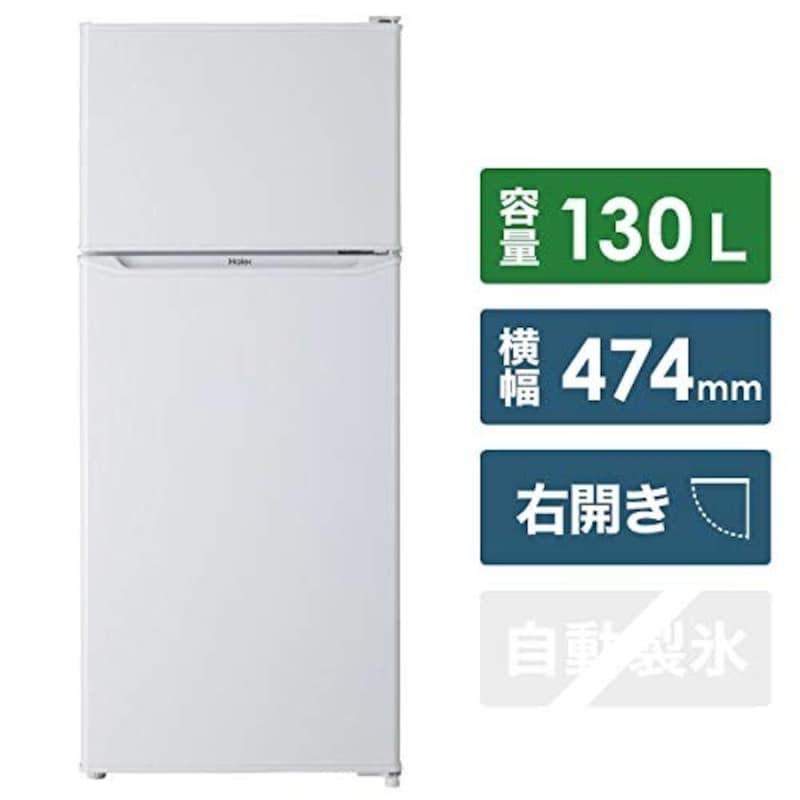 ハイアール,2ドア冷蔵庫 130L,JR-N130A-W