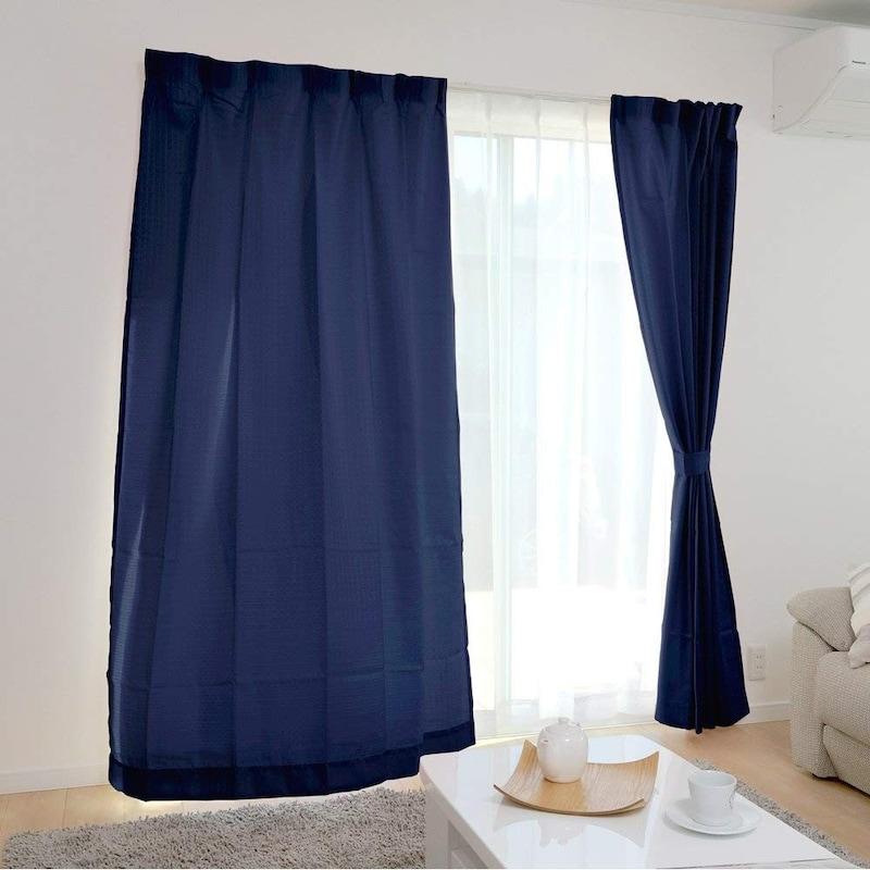 アイリスプラザ(IRIS PLAZA),カーテン 4枚組 幅100cm×丈135cm