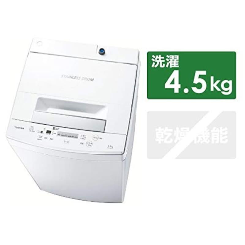 東芝,全自動洗濯機,AW-45M7-W