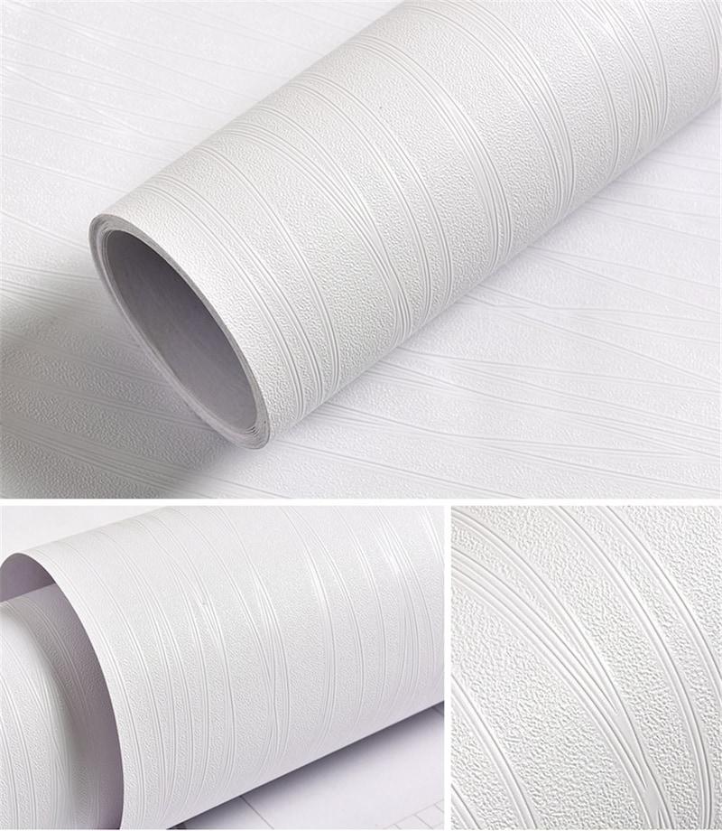 QD-BYM,ストライプ調壁紙シール 防水 簡単貼り付けシール