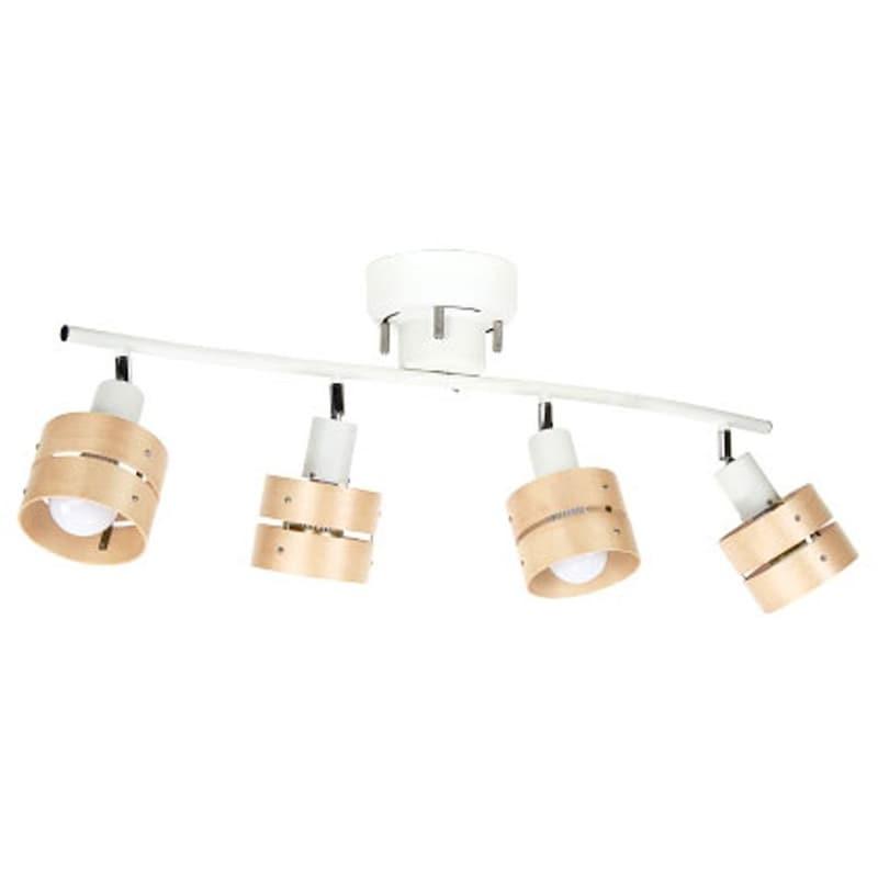 ボーベル(BeauBelle),シーリングライト 4灯 レダ ホワイト・ライトナチュラル