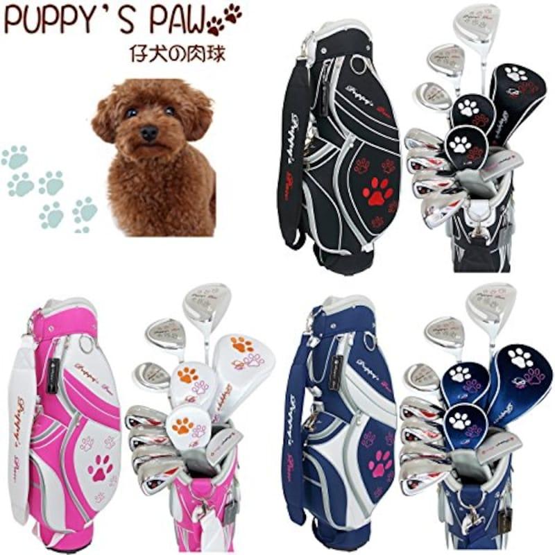 PUPPY'S PAW,仔犬の肉球 クラブ8本セット
