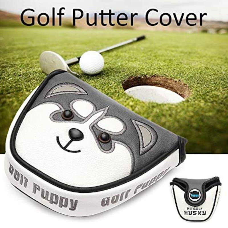 liankeshop,ゴルフヘッドカバー マグネット式