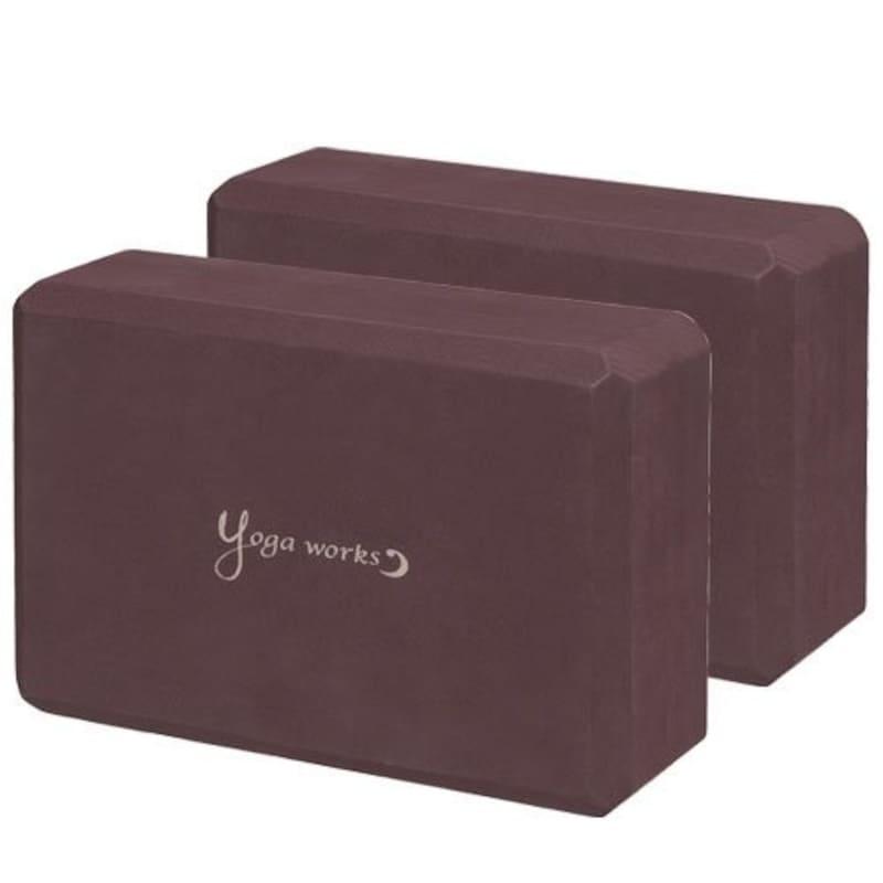 ヨガワークス(Yogaworks),ヨガブロックA 2個セット,YW-E411-C008