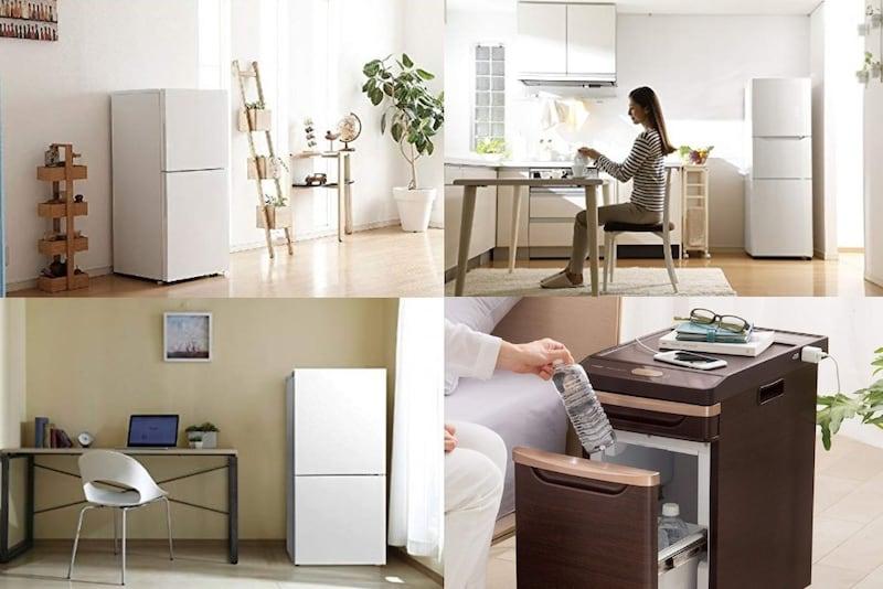 ツインバード冷蔵庫の特徴&おすすめモデル4選|ハーフ&ハーフや3ドアも紹介!