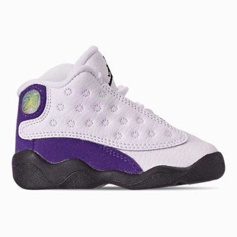 ナイキ,Air Jordan 13 Retro Lakers  ベビー・キッズ,nk190722001