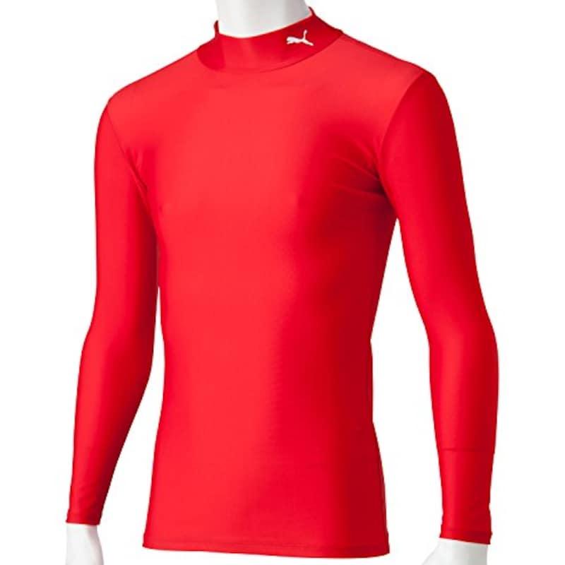PUMA(プーマ),コンプレッション モックネック長袖シャツ,920480