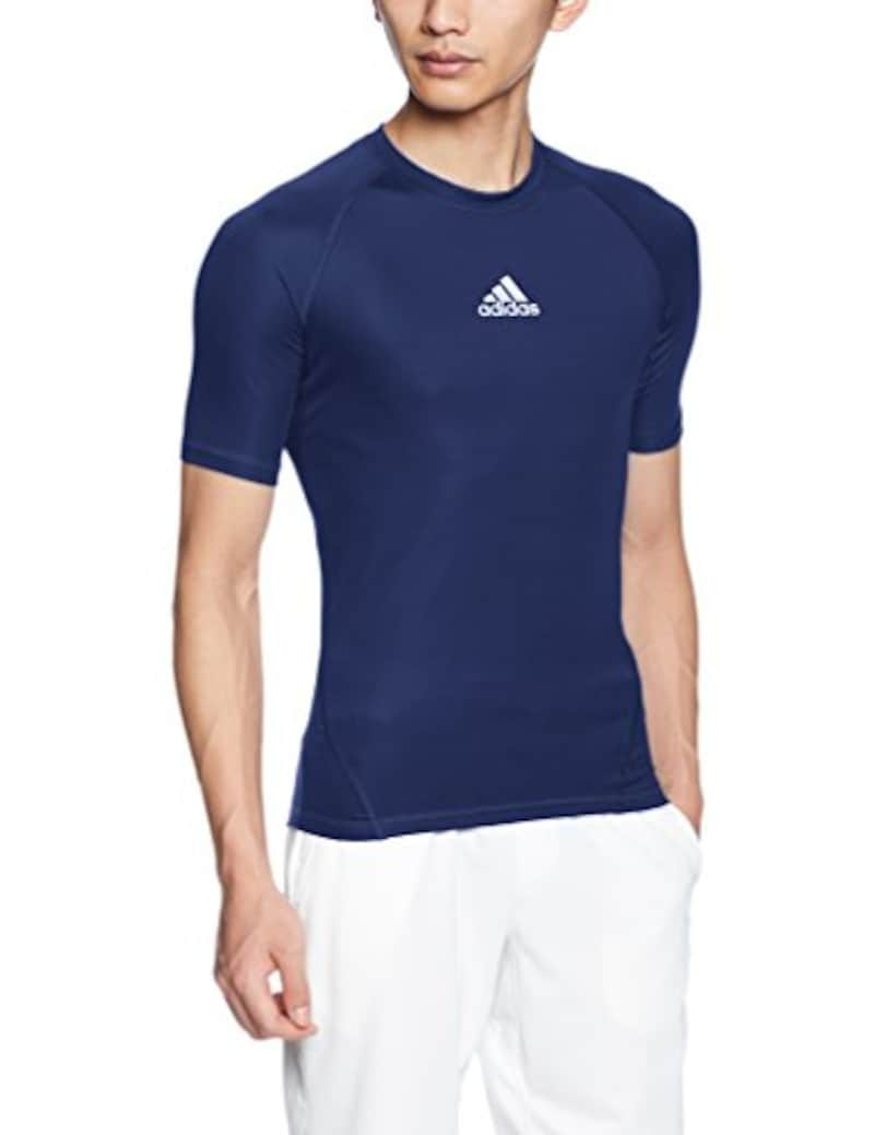 adidas(アディダス),アルファスキン TEAM ショートスリーブシャツ,EVN56