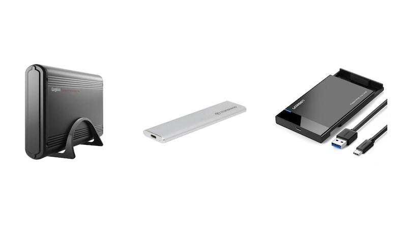 HDDケース・SSDケースおすすめ15選|3.5や2.5インチ、M.2のサイズ別、大容量も!