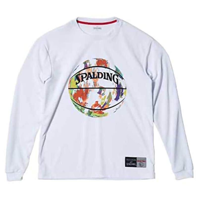 SPALDING,Tシャツ MARBLE BALL,SMT181080