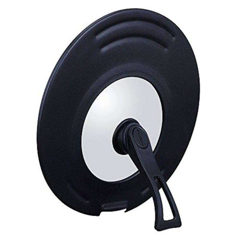 ドウシシャ(DOSHISHA),エバークック 蓋 立つ回転ハンドル付き 兼用カバー
