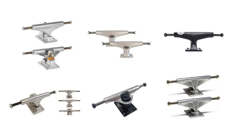 スケボートラックのおすすめブランド10選&人気商品11選|最適なサイズの選び方は?取り付け方や調整方法も必見