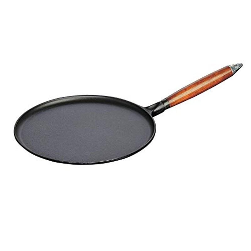 staub ストウブ,クレープパン ブラック 28cm ,Pan 40509-525