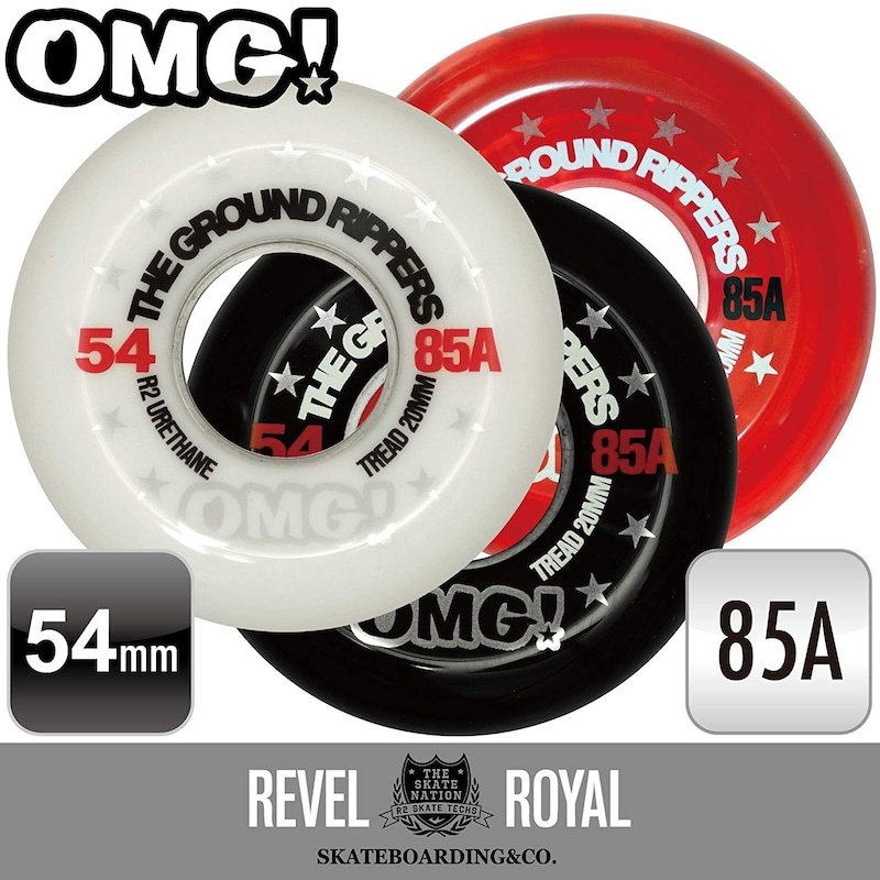 Revel Royal(レベルロイヤル),OMG! THE GROUND RIPPERS