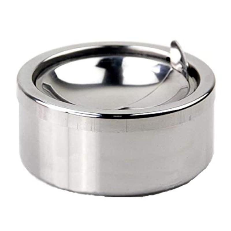 FUPUONE,ふた付き灰皿 ステンレス製
