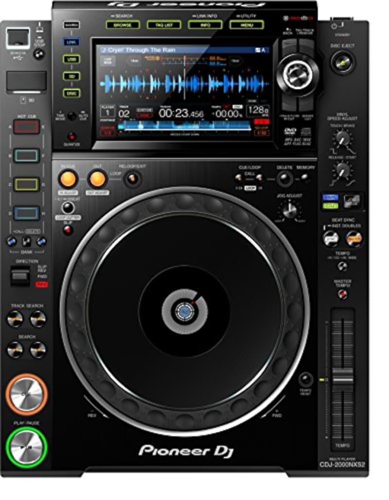Pioneer DJ,プロフェッショナルマルチプレーヤー,CDJ-2000NXS2