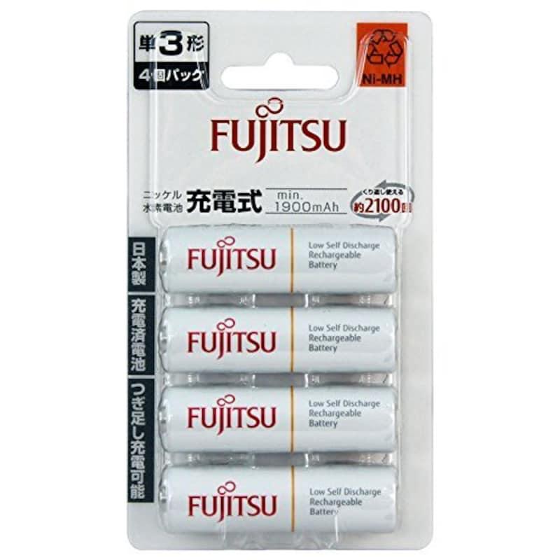 富士通,充電式電池(単三型4本セット),HR-3UTC(4B)