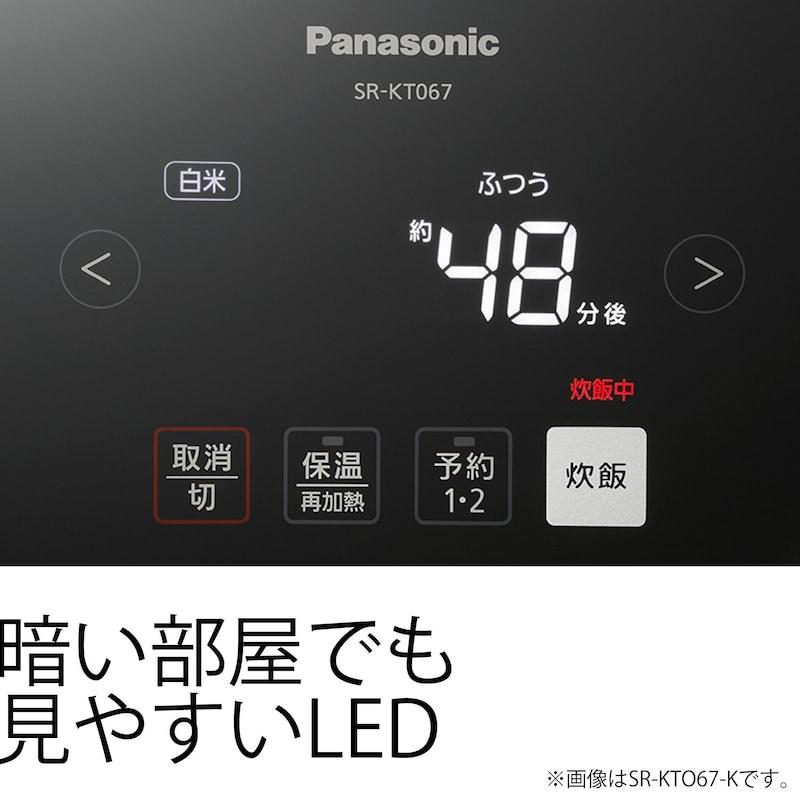 Panasonic(パナソニック),IH式炊飯器,SR-KT067-W