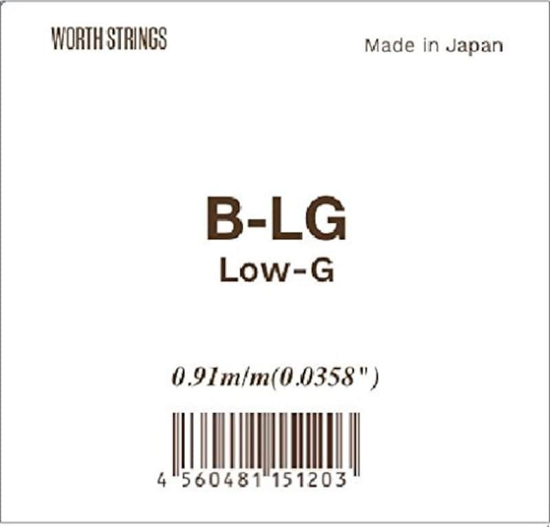 Worth,B-LG フロロカーボン弦
