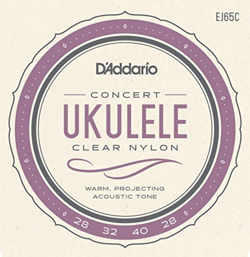 ダダリオ,Pro-Arte Custom Extruded Ukulele Concert ウクレレ弦,EJ65C