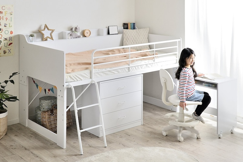 木製ロフトベッドのおすすめ人気ランキング6選|子供部屋にも!
