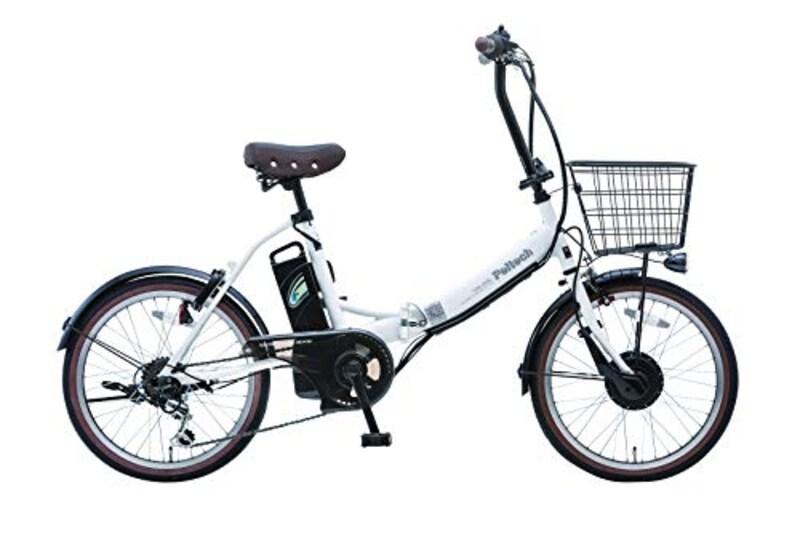 PELTECH(ペルテック),折り畳み電動アシスト自転車,TDN-206