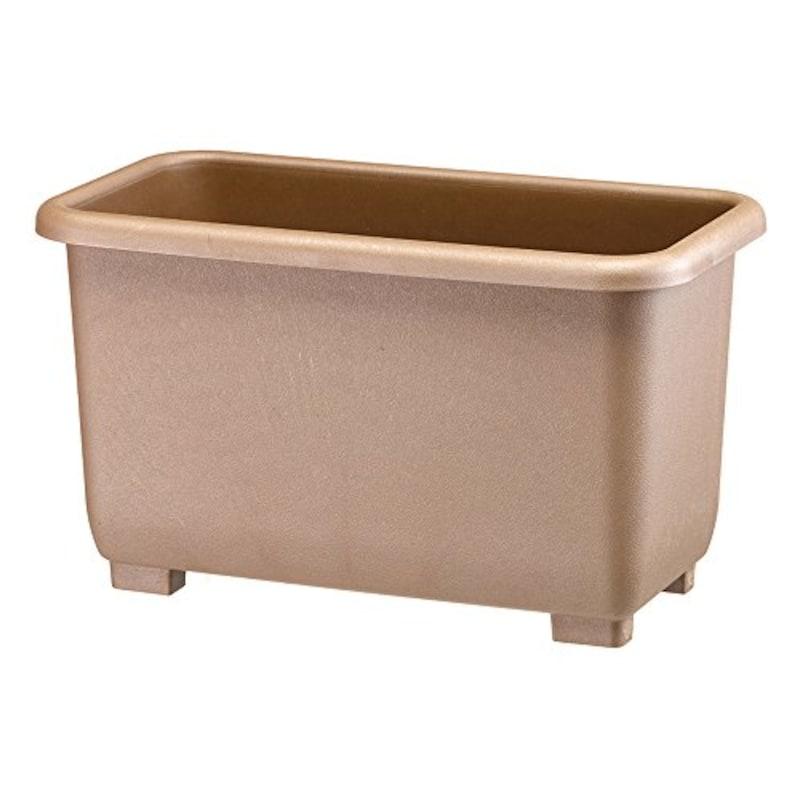 大和プラスチック,eco&eco  深型プランター55型 ブラウン,30-10