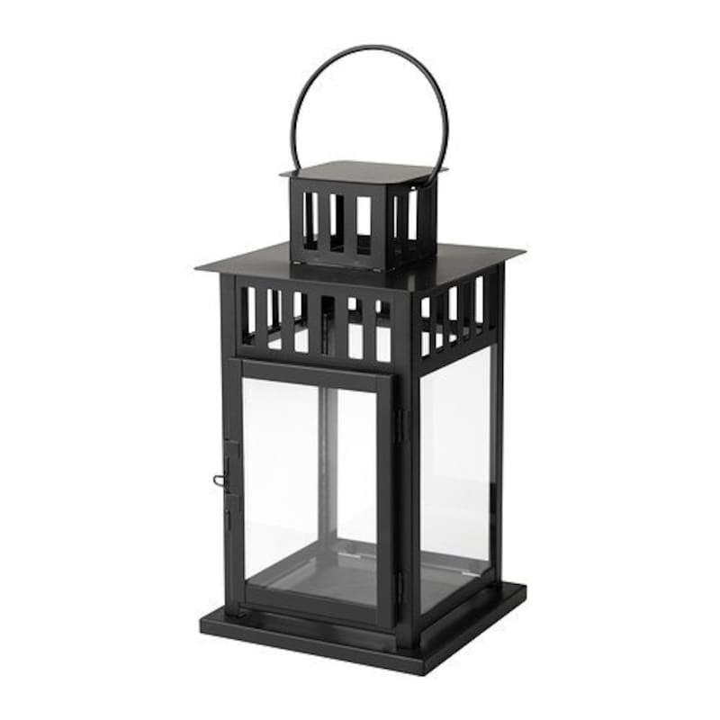 IKEA(イケア) ,BORRBY ブロックキャンドル用ランタン,501.561.12