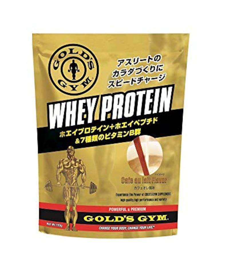 GOLD'S GYM(ゴールドジム),ホエイプロテイン  カフェオレ風味