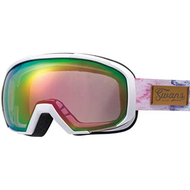 SWANS,スキー スノーボード ゴーグル,080-MDHS