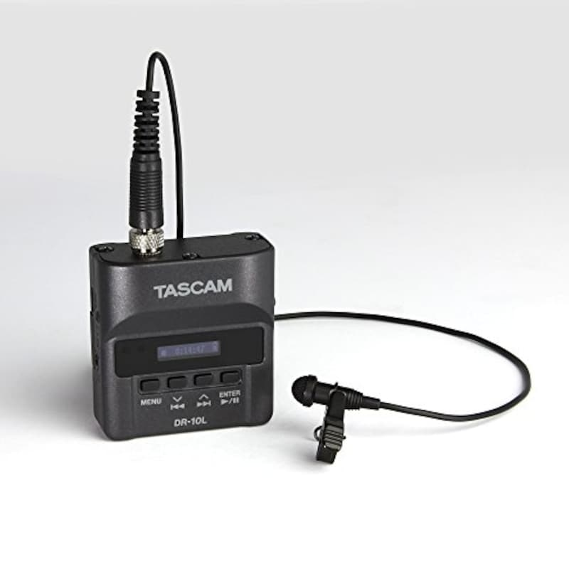 TASCAM,ピンマイクレコーダー,DR-10L