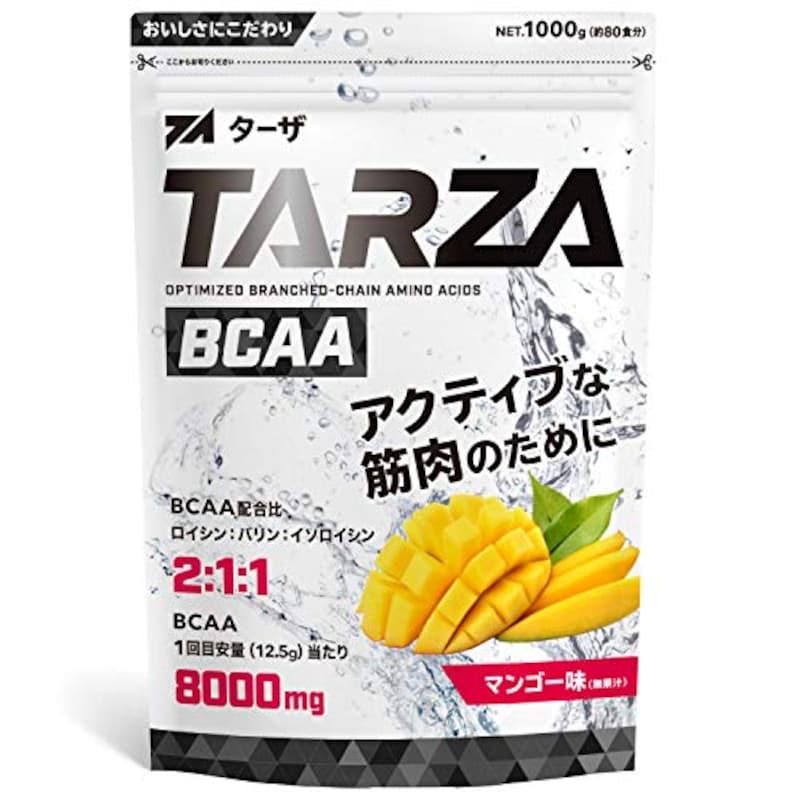 TARZA(ターザ),BCAA 8000mg アミノ酸 クエン酸 パウダー マンゴー風味 1kg
