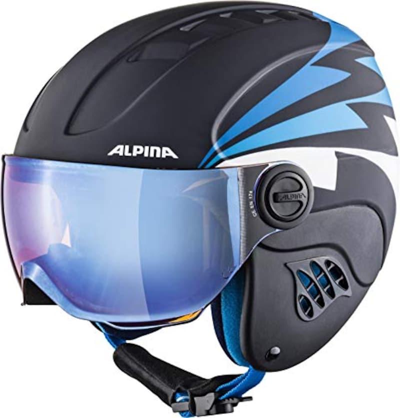 ALPINA(アルピナ),Carat LE子供用スキーヘルメットバイザーHM