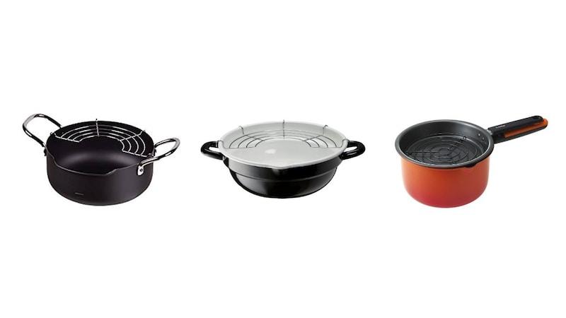 揚げ物鍋おすすめ人気ランキング15選 一人暮らし向けの小さいサイズや油はね防止ガード付きも!