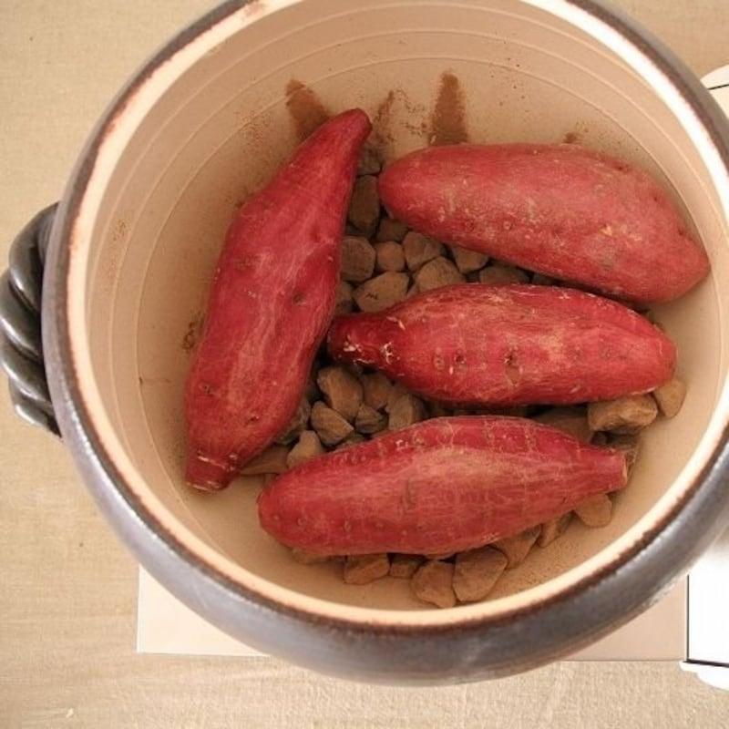 器屋一信,石焼き芋鍋黒丸(大)