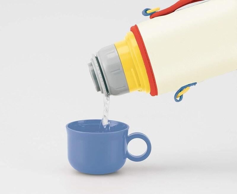 スケーター,子供用 ステンレス水筒 コップ付き カバー付き,KSKDC6