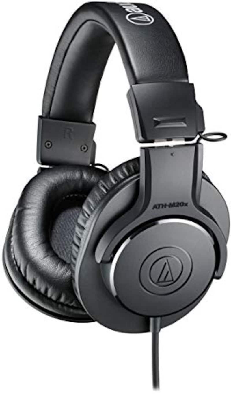 audio-technica,プロフェッショナルモニターヘッドホン,ATH-M20x