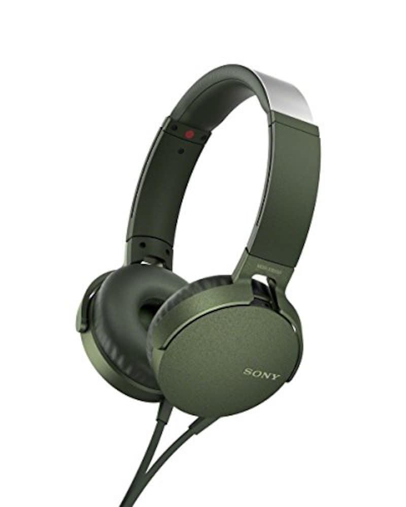 SONY,ヘッドホン 重低音モデル,MDR-XB550AP