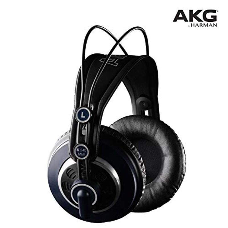 AKG,プロフェッショナルスタジオモニター・セミオープンヘッドフォン,K240MK2