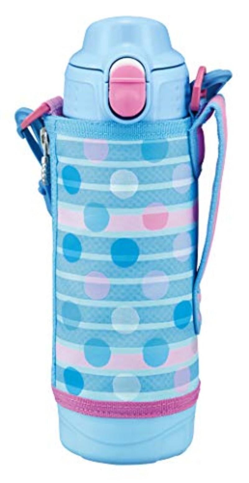 タイガー魔法瓶(TIGER),水筒 500ml サハラ ステンレスボトル 2WAY ブルードット,MBO-H050AT