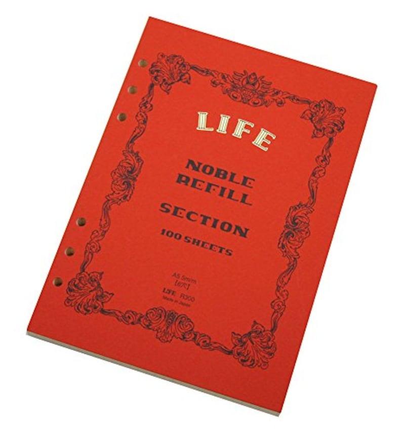 ライフ,ノーブル システム手帳 リフィル,R300