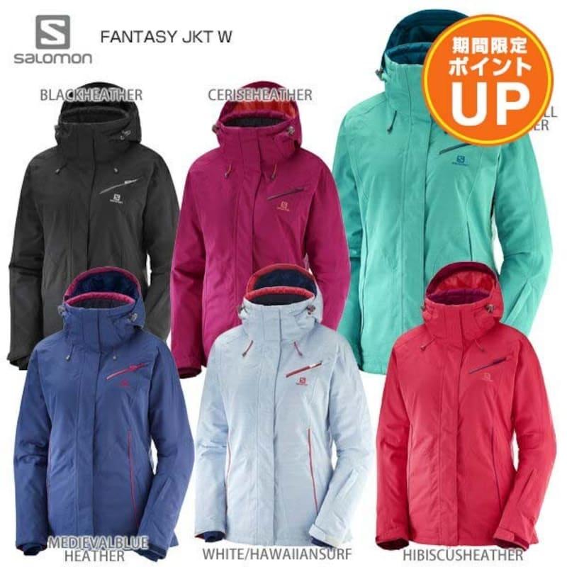 SALOMON(サロモン),スキーウェア レディース ジャケット FANTASY JKT W,cd35601