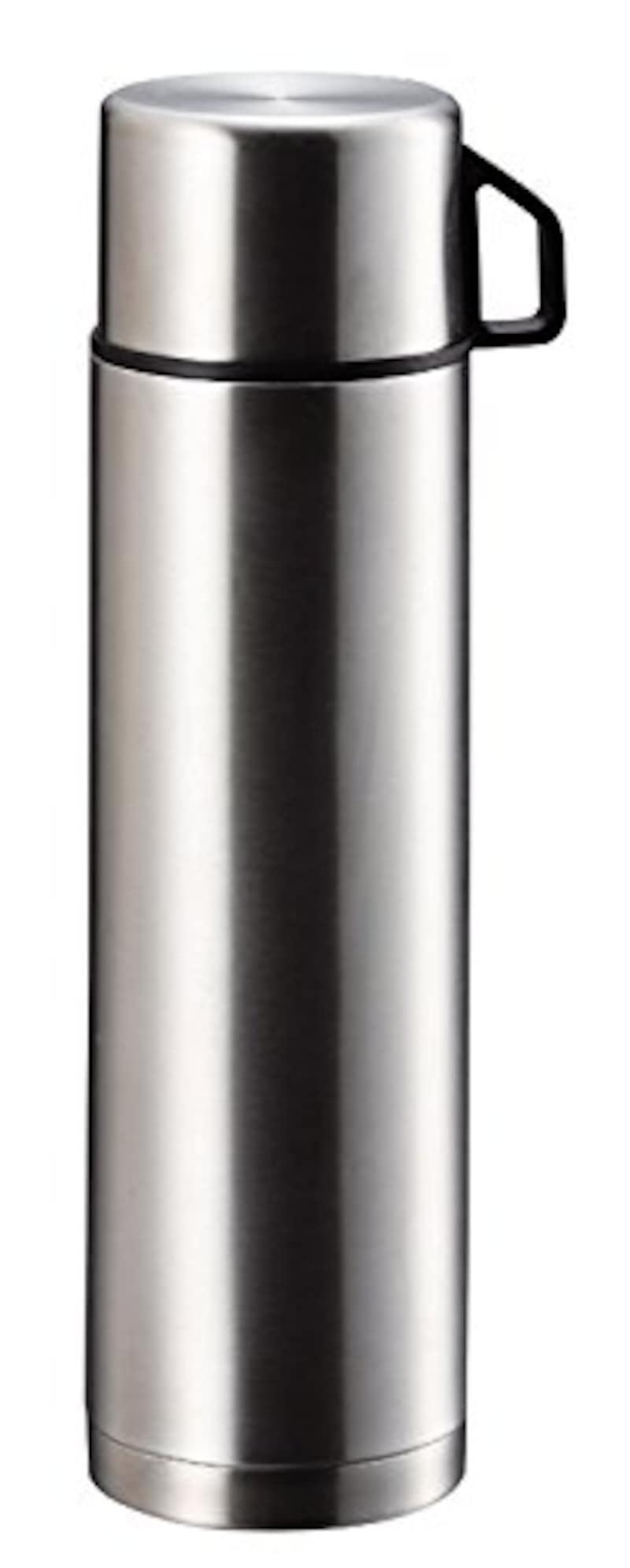 パール金属,ダブル ステンレスボトル スタイルベーシック コップ付,H-6828