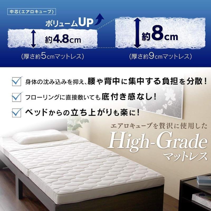 アイリスオーヤマ,ハイグレード エアリーマットレス,HG90-S