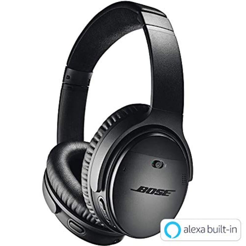 BOSE,ワイヤレスノイズキャンセリングヘッドホン,QuietComfort35 II BLK
