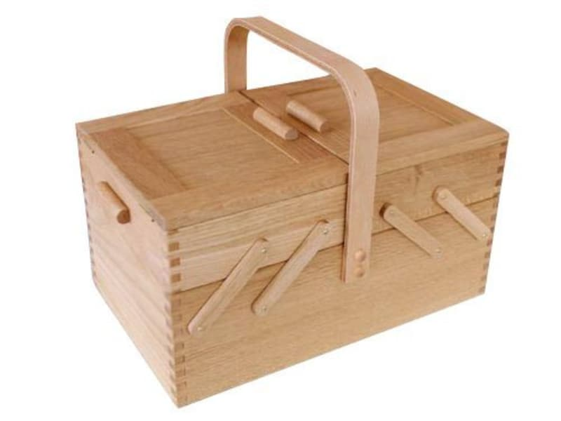 倉敷意匠,ソーイングボックス 木製